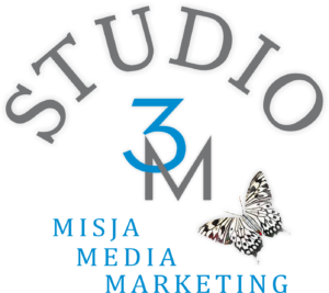Logo studio 3M Misja Media Marketing